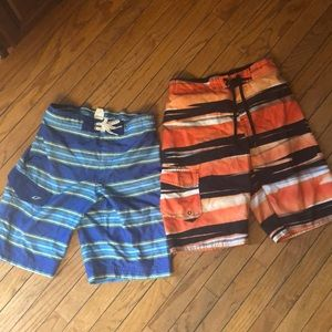 Other - Two pairs of boys bathing suit trunks.